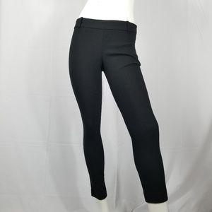 J.Crew Stretch Twill Wool Pants Minnie Black Sz 0
